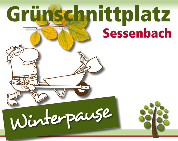 Button Gruenschnittplatz Winterpause
